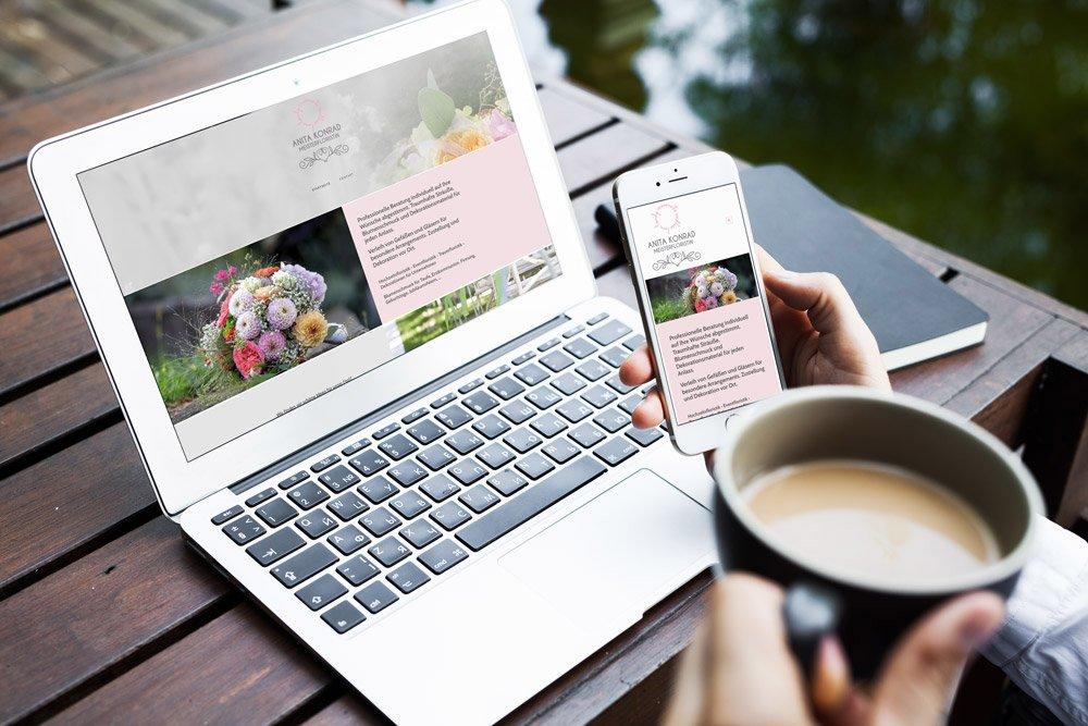 Floris und Fleur Website Agenturmorre Graz