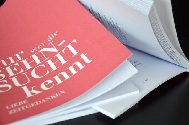 Horst Rinner Gedichtbände - Editorial Design