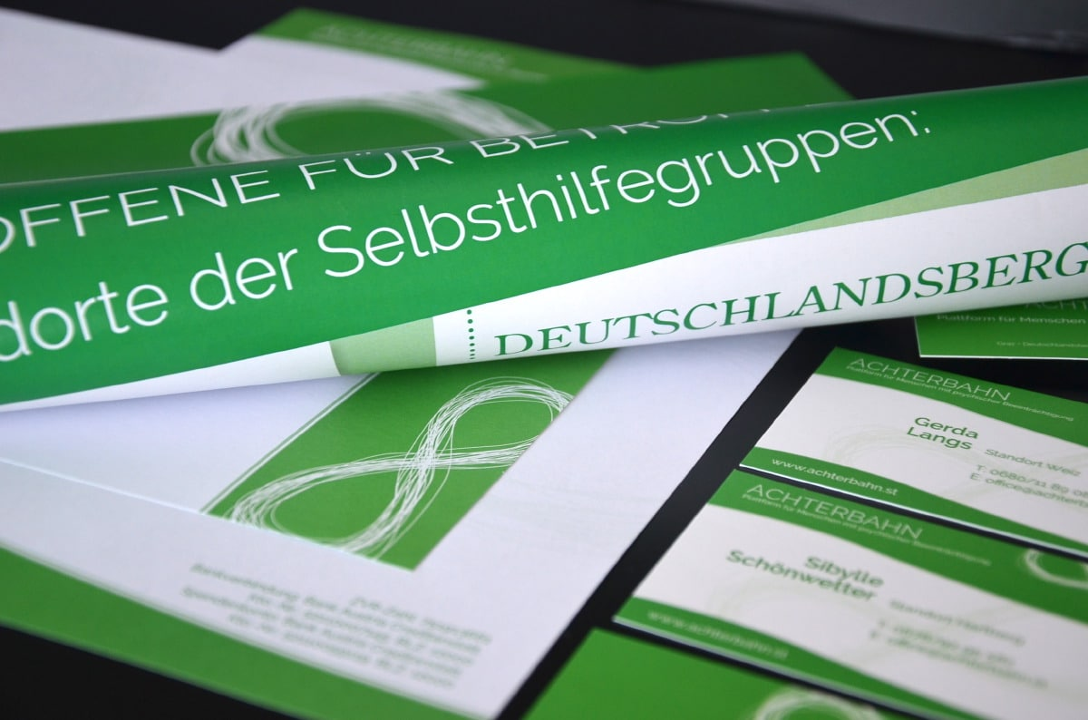Verein Achterbahn - Print Design