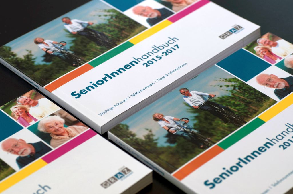 SeniorInnenhandbuch - Editorial Design