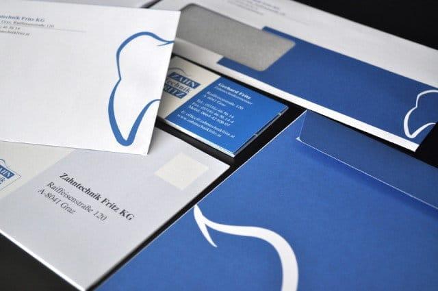Zahntechnik Fritz - Print Design