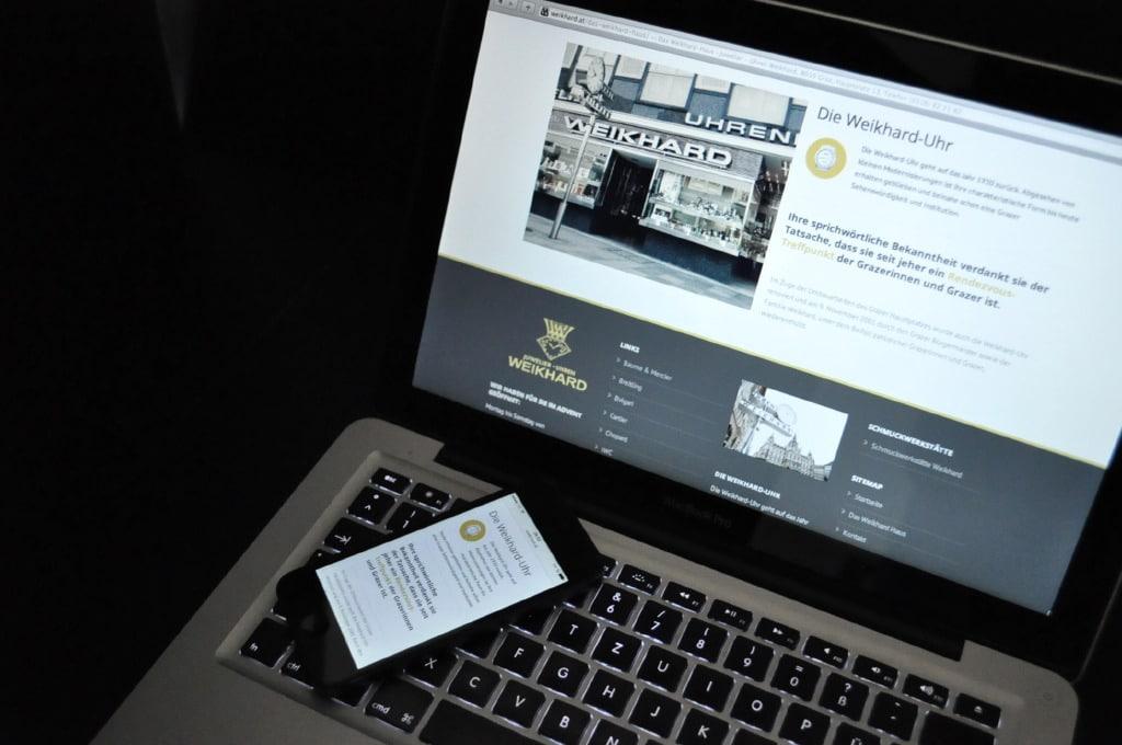 Weikhard - Website