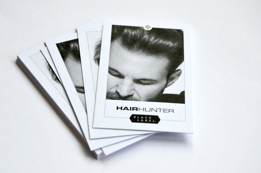 Hairhunter Blacklabel - Print Design