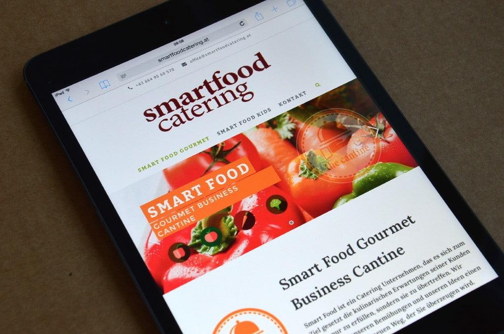 Webdesign Smart Food