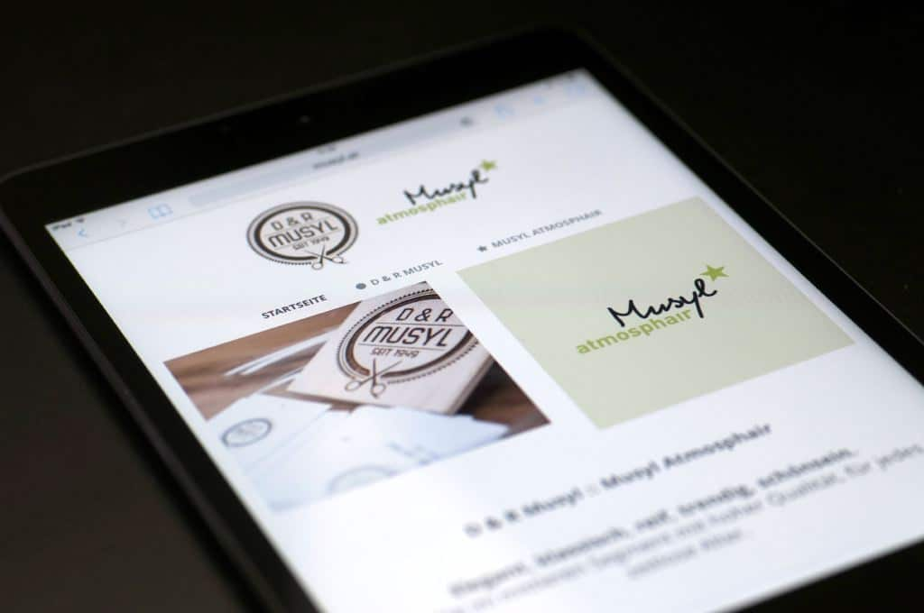 Musyl - Webdesign