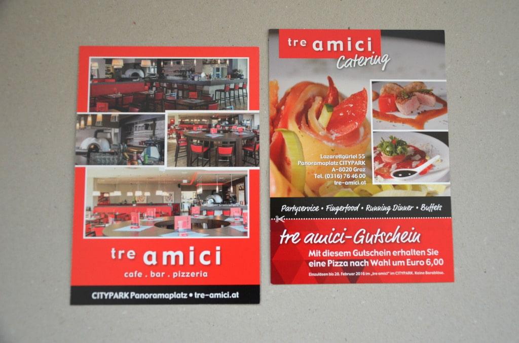 Print Design by Agenturmorre - Tre Amici