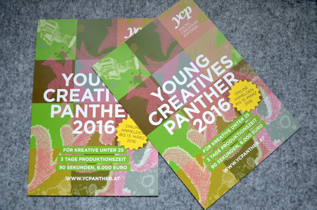 Green Panther & YCP 2016 - Print Design