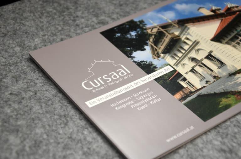 Cursaal St. Radegund Corporate Design Werbeagentur Morre Graz