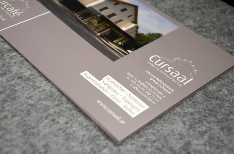 Cursaal - Corporate Design
