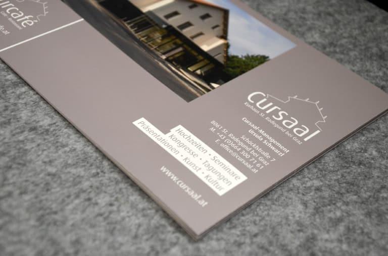 Cursaal - Corporate Design