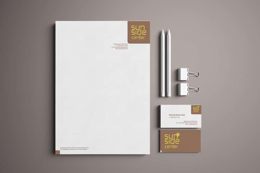 Sunside Center Corporate Design Werbeagentur Graz