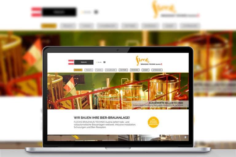 Brauhaus Austria Website Werbeagentur Morre Graz