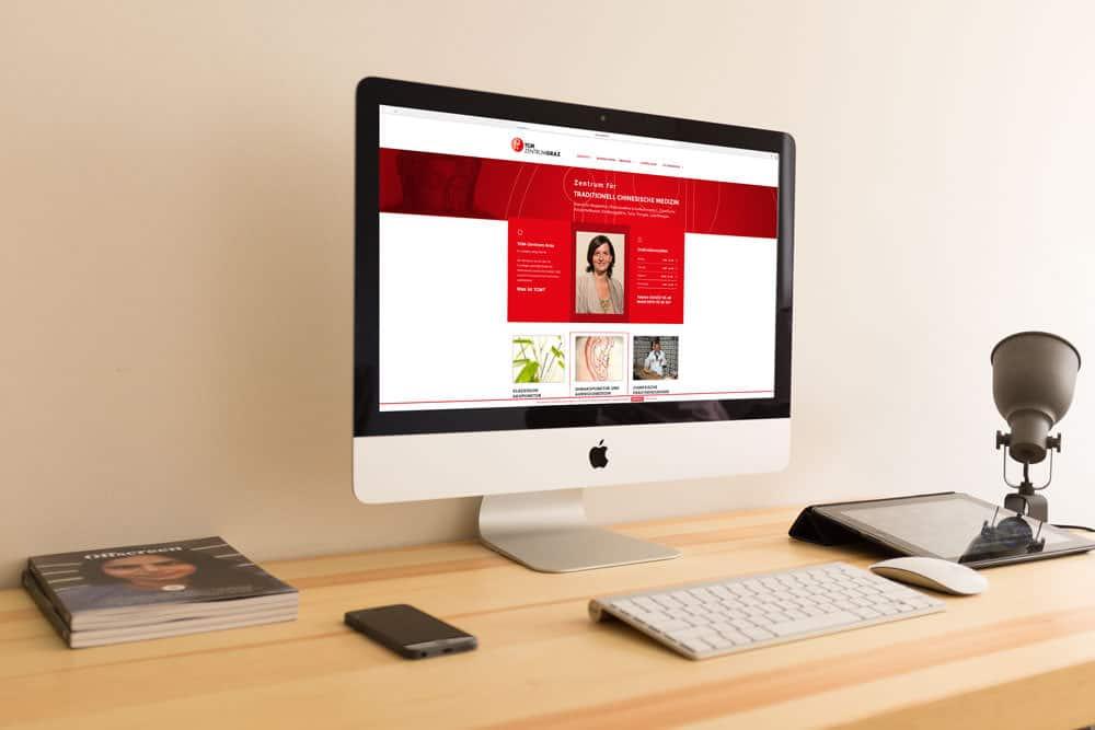 TCM Zentrum Webdesign