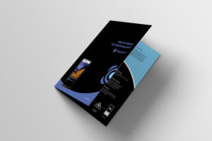 TouchAd Print Design by Werbeagentur Graz