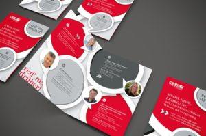 Folderdesign by Werbeagentur Graz