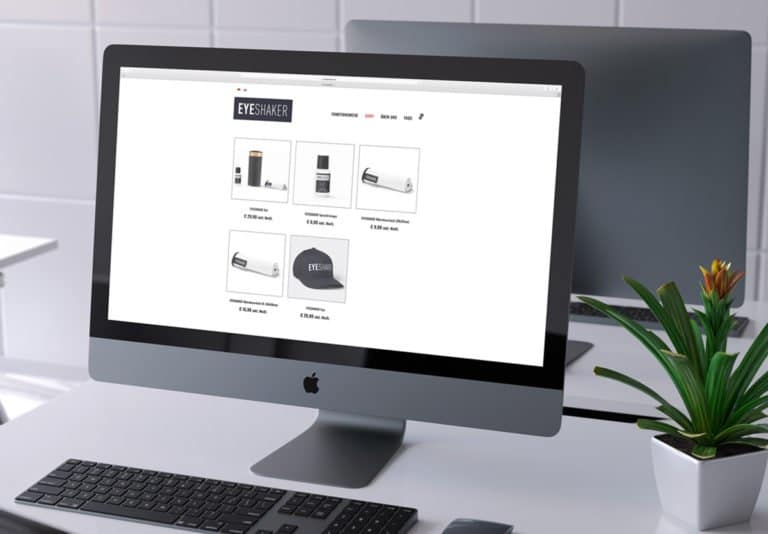 Onlineshop Eyeshaker by Werbeagentur Morre