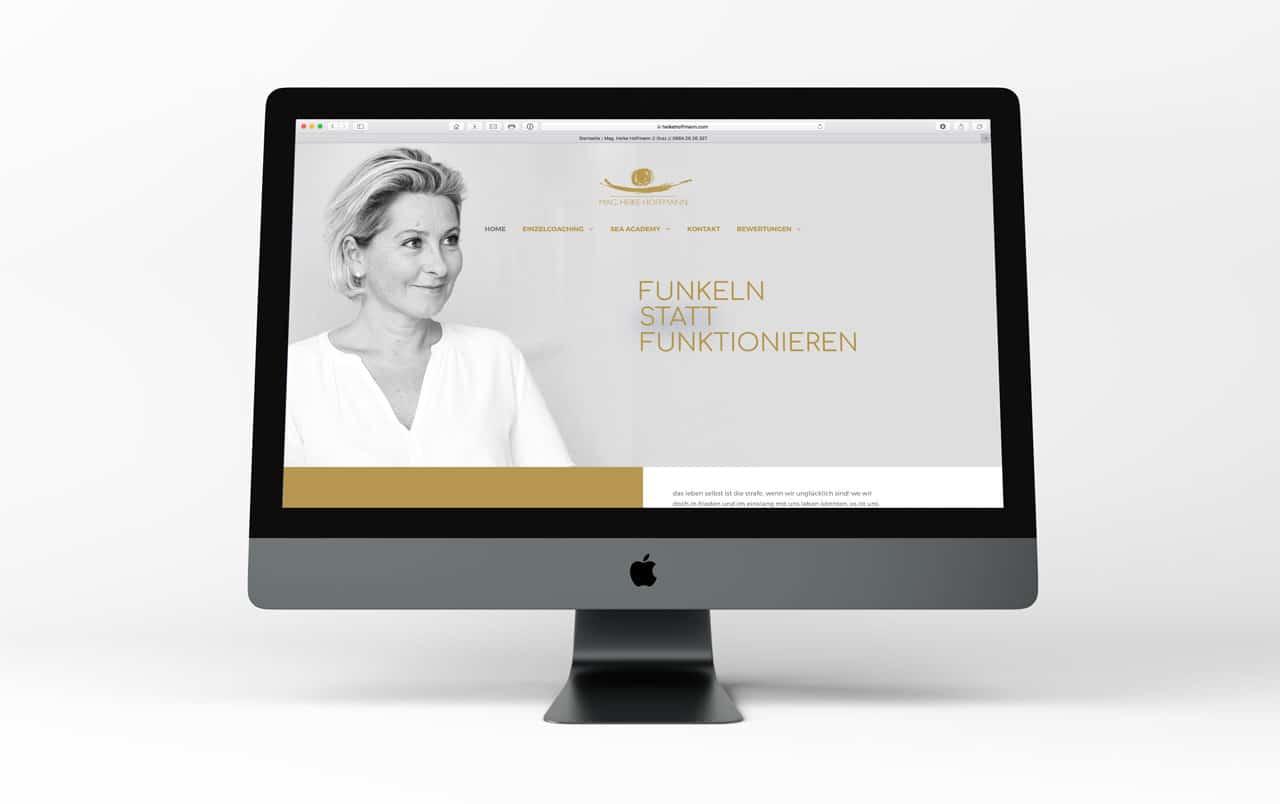 responsive Webdesign Website Heike Hoffmann