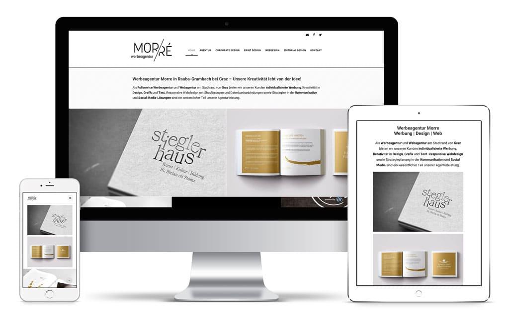 responsive Website Werbeagentur Morre