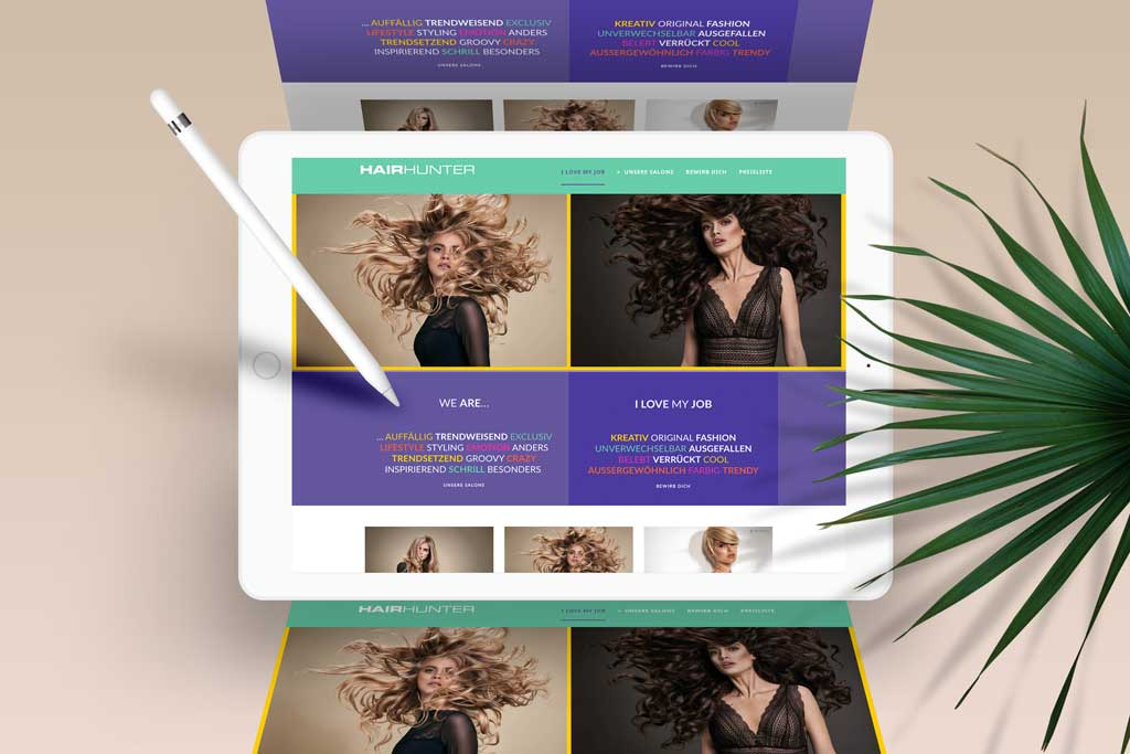Website Hairhunter