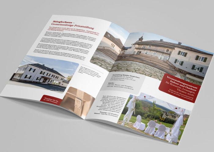 Stieglerhaus Broschüre