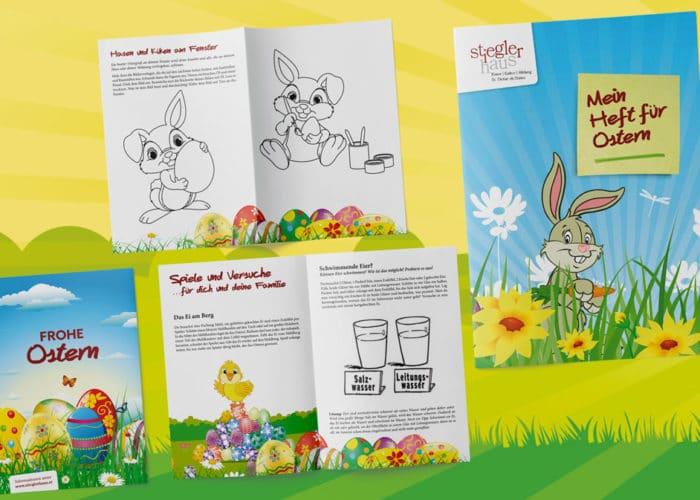 Werbeagentur Morre Stieglerhaus Mein Heft für Ostern