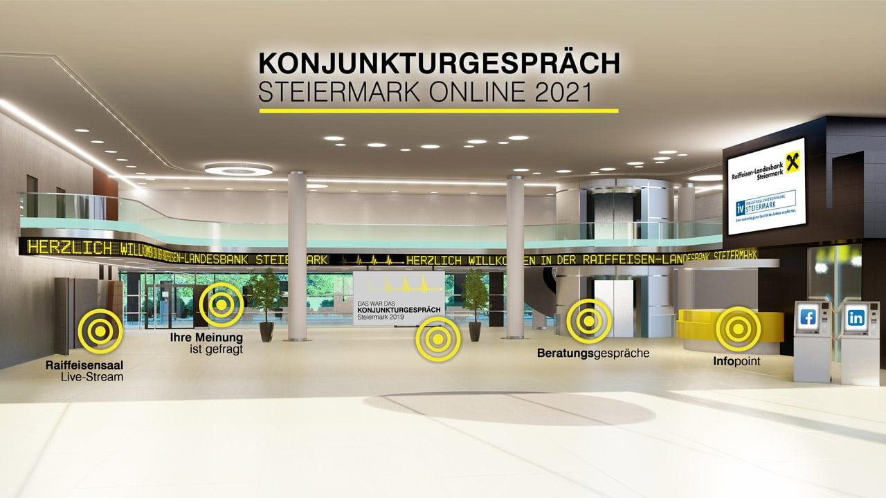 go4expo Raiffeisen Foyer